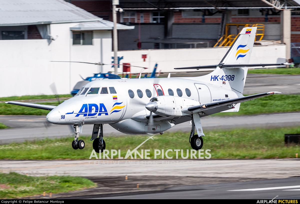ADA Aerolinea de Antioquia HK-4398 aircraft at Medellin - Olaya Herrera
