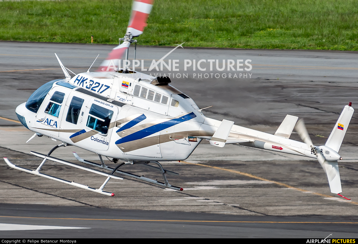 ACA AeroCharter Andina HK-3217 aircraft at Medellin - Olaya Herrera