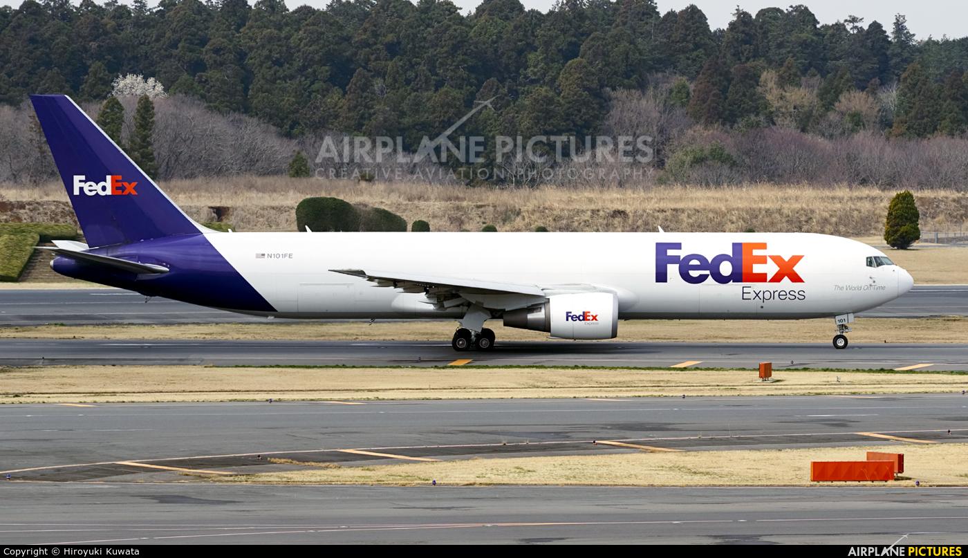 FedEx Federal Express N101FE aircraft at Tokyo - Narita Intl