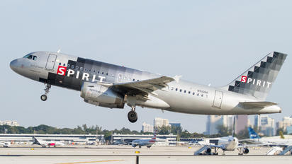 N516NK - Spirit Airlines Airbus A319