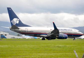 N784XA - Aeromexico Boeing 737-700