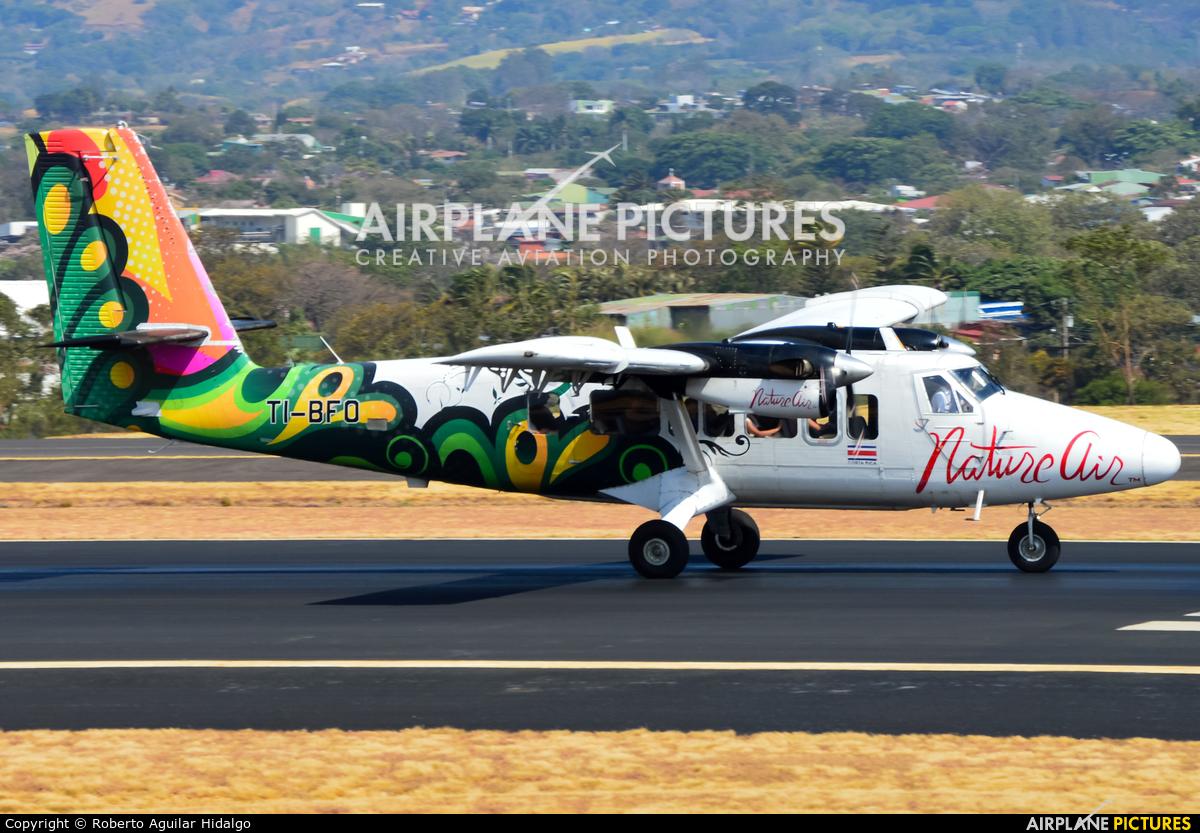 Nature Air TI-BFO aircraft at San Jose - Juan Santamaría Intl