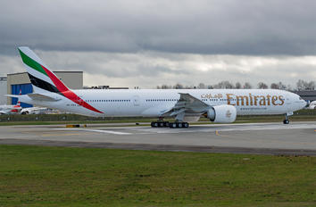 A6-EQA - Emirates Airlines Boeing 777-300ER