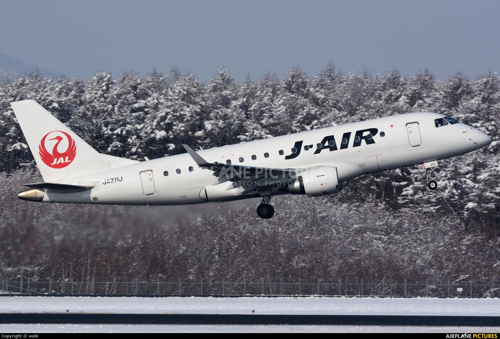 J-Air JA211J aircraft at New Chitose