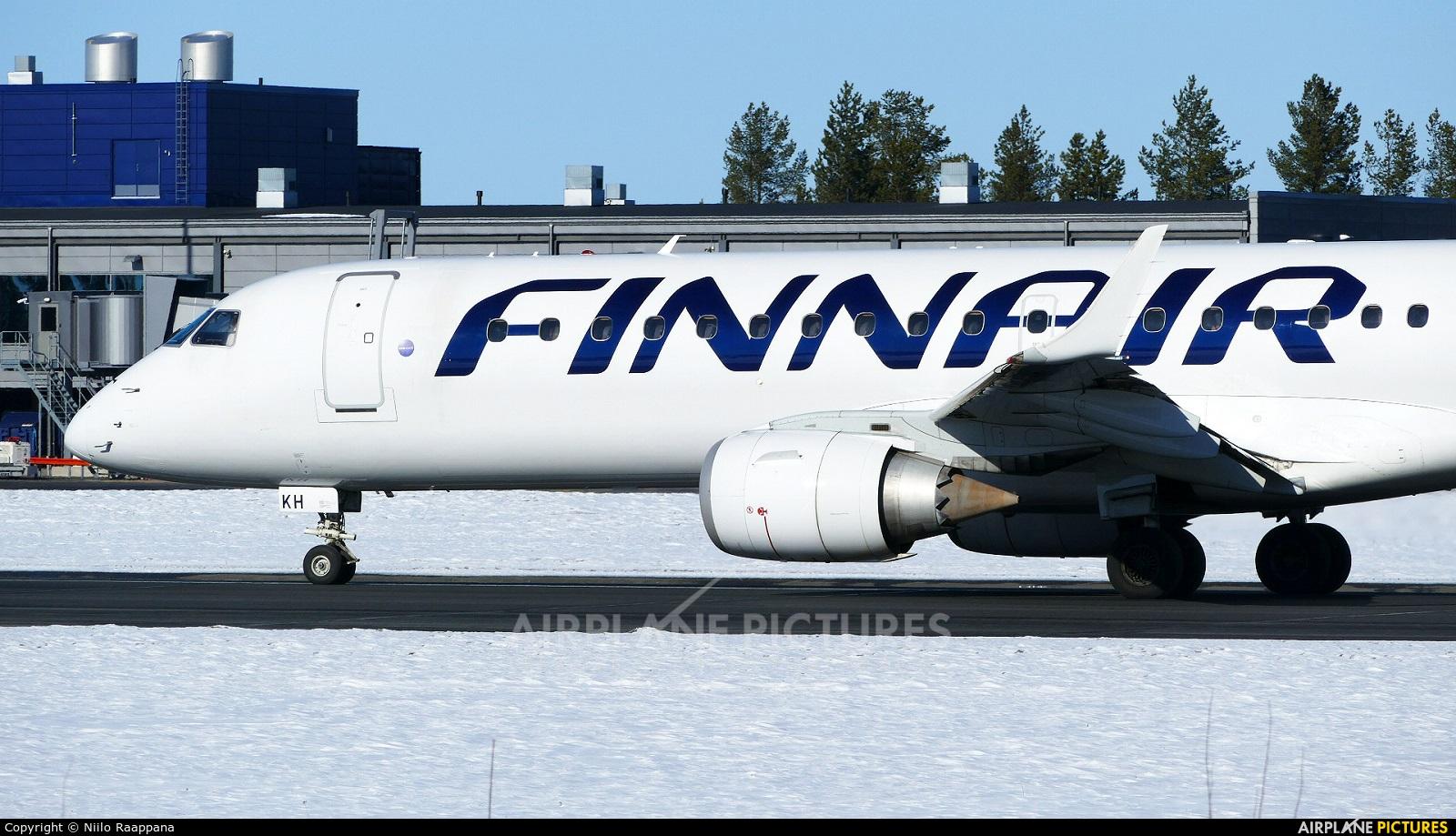 Finnair OH-LKH aircraft at Oulu