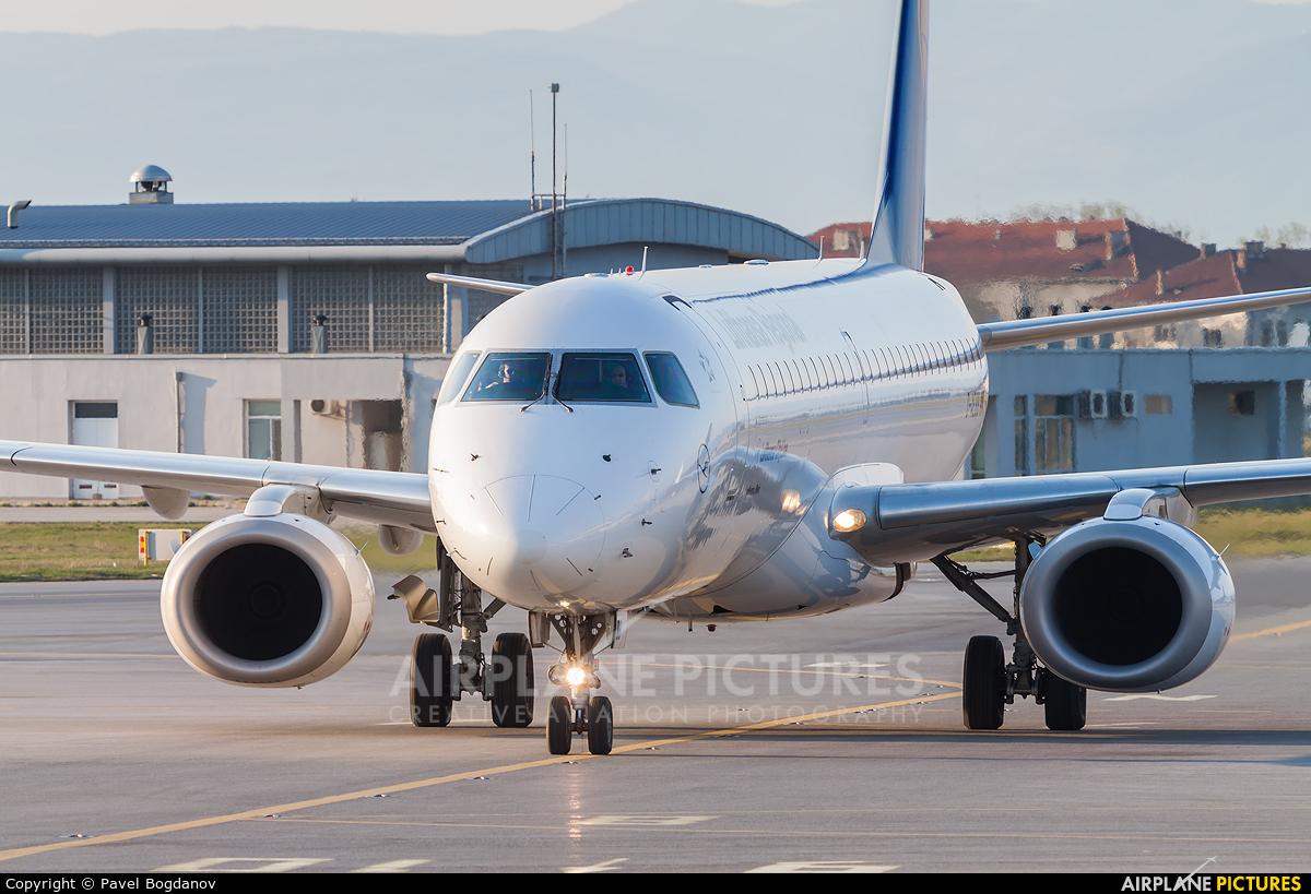 Lufthansa Regional - CityLine D-AEBB aircraft at Sofia