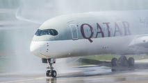A7-ALN - Qatar Airways Airbus A350-900 aircraft