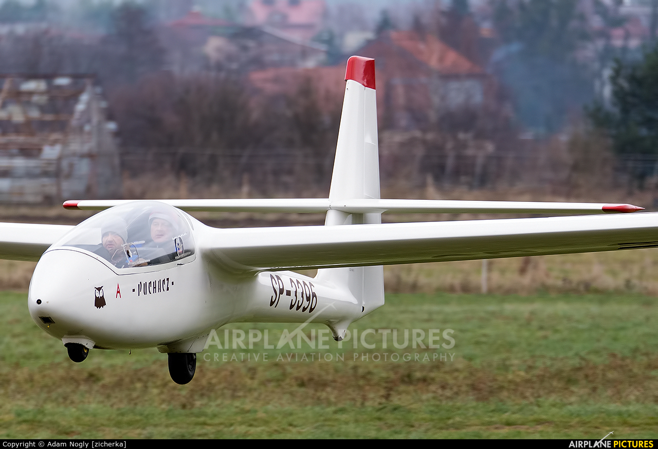 Private SP-3396 aircraft at Rybnik - Gotartowice