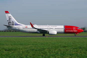 LN-DYU - Norwegian Air Shuttle Boeing 737-800