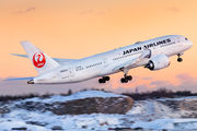 JA843J - JAL - Japan Airlines Boeing 787-8 Dreamliner aircraft