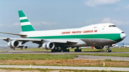 VR-HVY - Cathay Pacific Cargo Boeing 747-200F