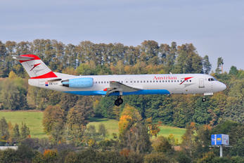OE-LVI - Austrian Airlines/Arrows/Tyrolean Fokker 100