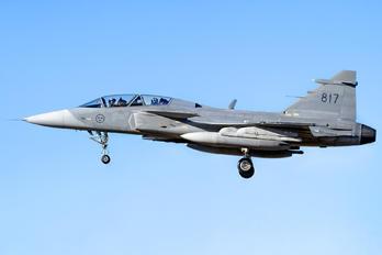 39817 - Sweden - Air Force SAAB JAS 39D Gripen
