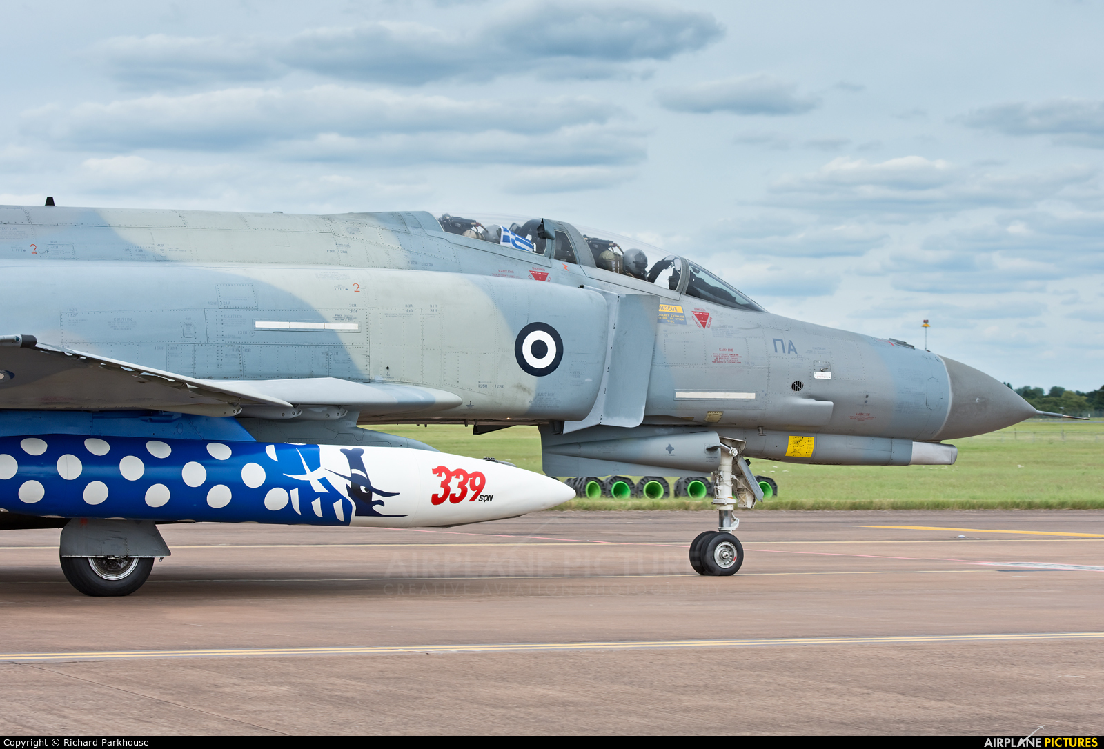 Greece - Hellenic Air Force 01504 aircraft at Fairford
