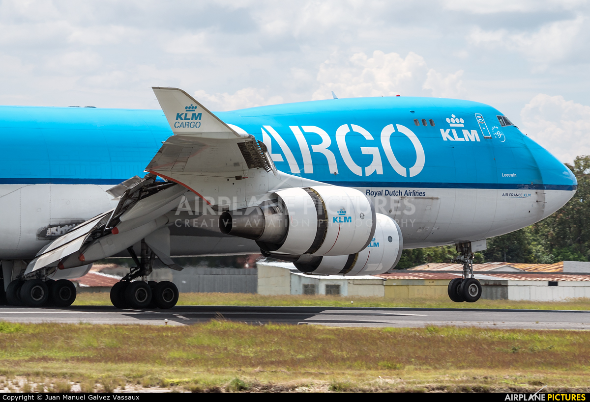 KLM Cargo PH-CKB aircraft at Guatemala - La Aurora