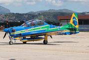 """FAB5965 - Brazil - Air Force """"Esquadrilha da Fumaça"""" Embraer EMB-314 Super Tucano A-29B aircraft"""