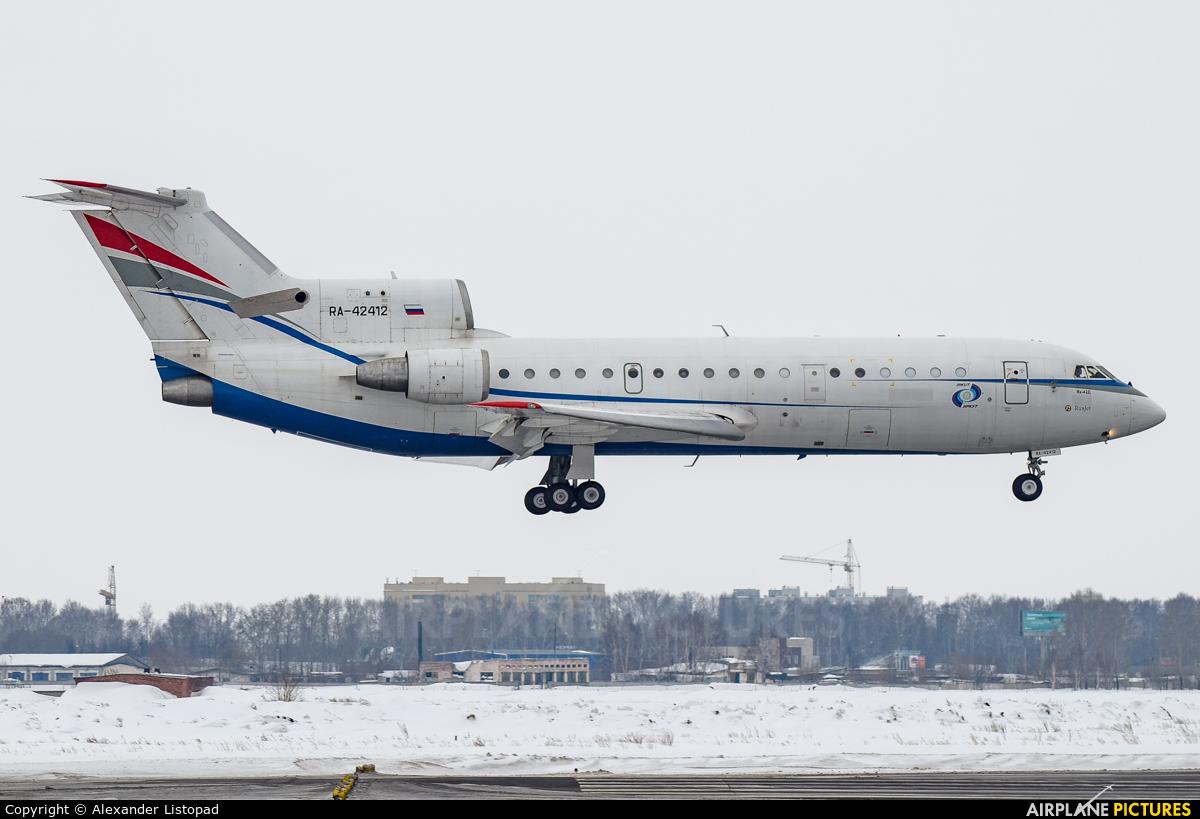 Rusjet Aircompany RA-42412 aircraft at Novosibirsk