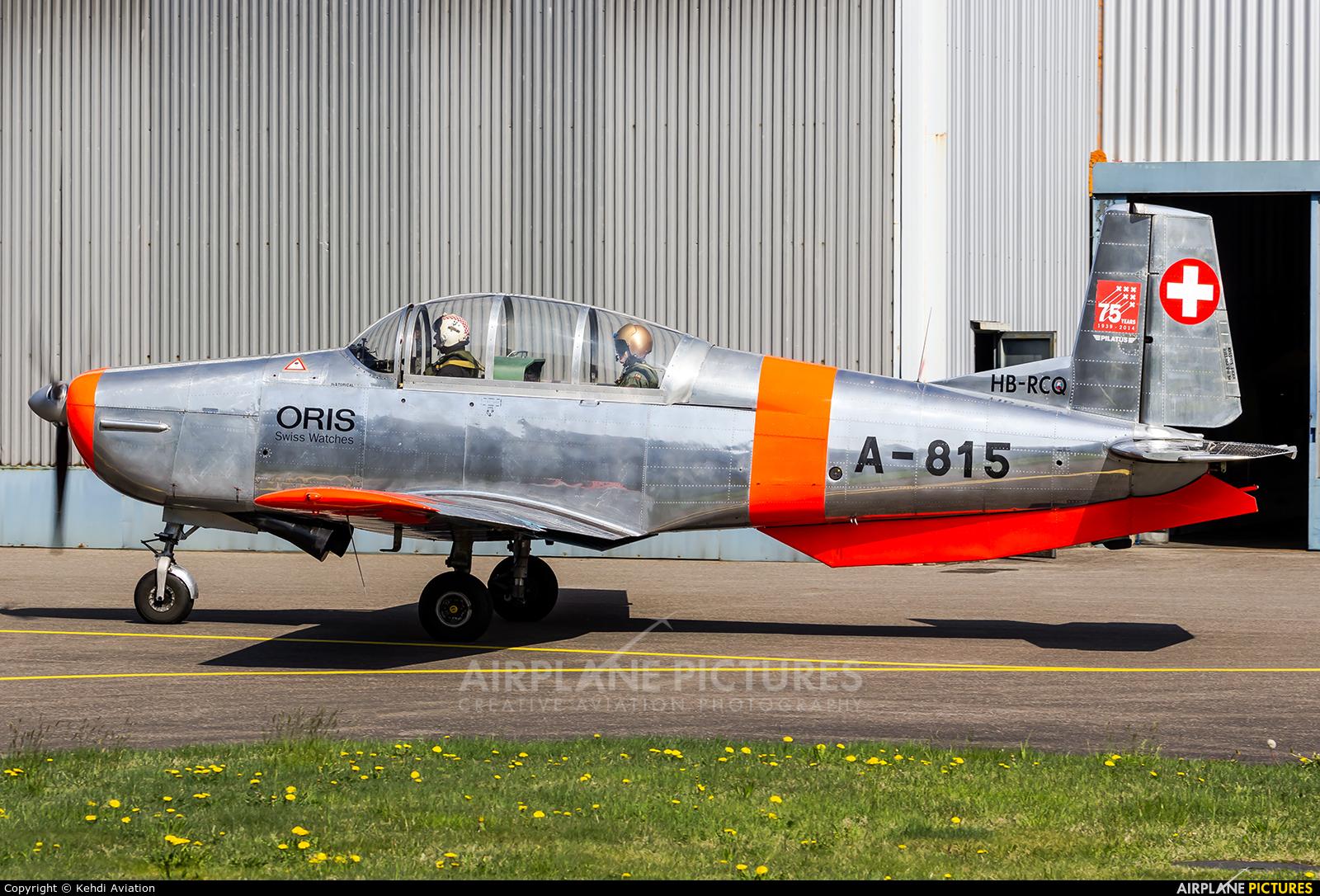 Private HB-RCQ aircraft at Locarno