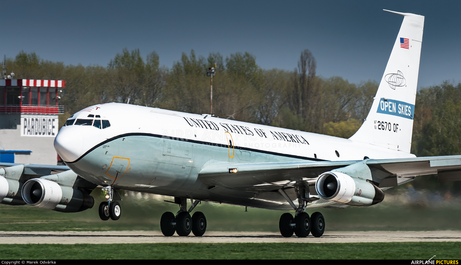 USA - Air Force 61-2670 aircraft at Pardubice