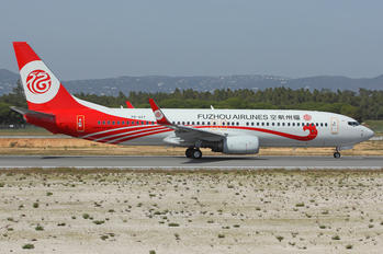 PR-GXY - Fuzhou Airlines Boeing 737-800