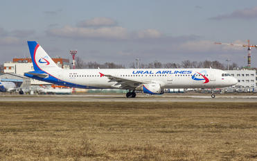 VQ-BDA - Ural Airlines Airbus A321