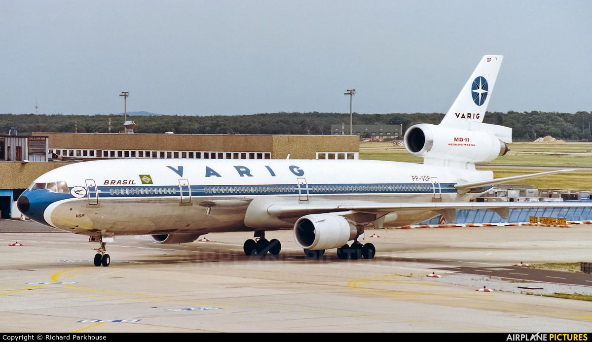 VARIG PP-VOP aircraft at Frankfurt