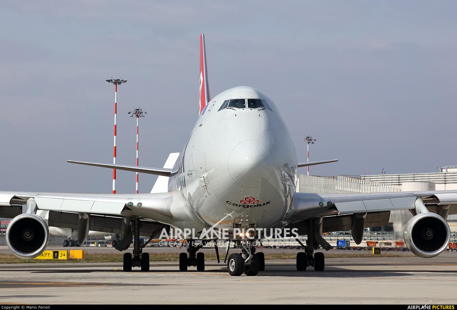Cargolux Italia LX-TCV aircraft at Milan - Malpensa