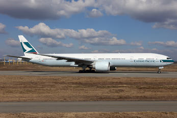B-KQH - Cathay Pacific Boeing 777-300ER