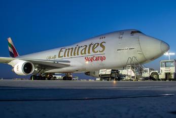OO-THC - Emirates Sky Cargo Boeing 747-400F, ERF