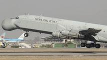 Boeing 707 visits Santiago de Chile title=