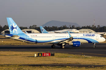 XA-GEO - Interjet Airbus A321