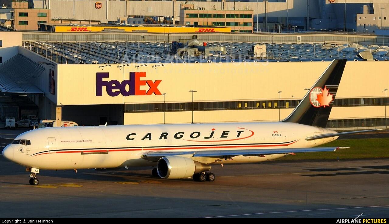 Cargojet Airways C-FDIJ aircraft at Cologne Bonn - Konrad Adenauer