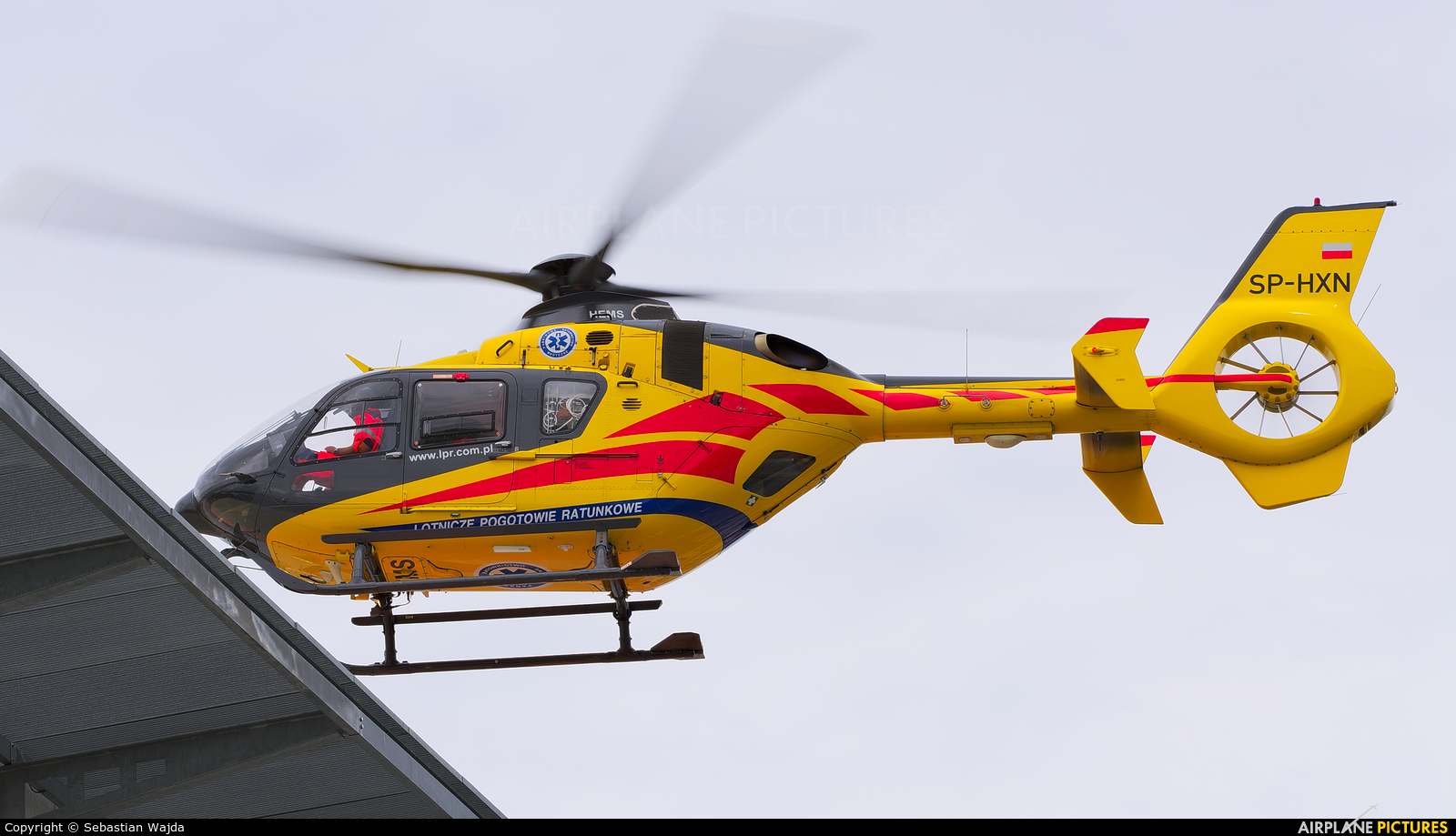 Polish Medical Air Rescue - Lotnicze Pogotowie Ratunkowe SP-HXN aircraft at Off Airport - Poland