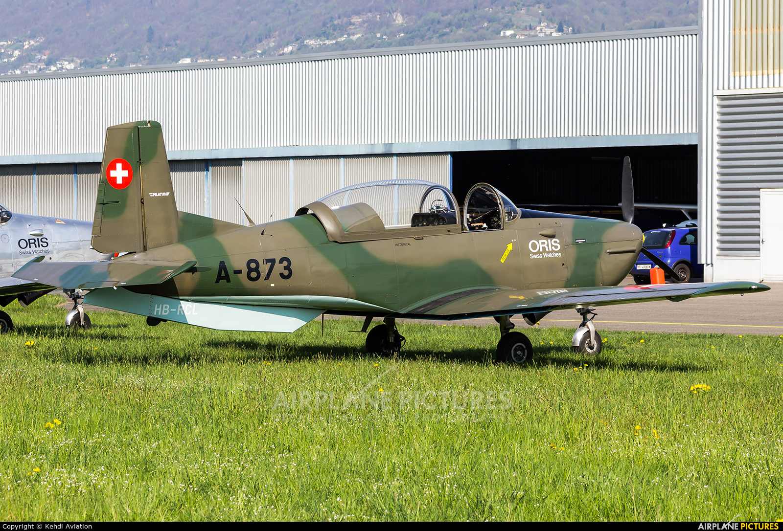 P3 Flyers Ticino HB-RCL aircraft at Locarno