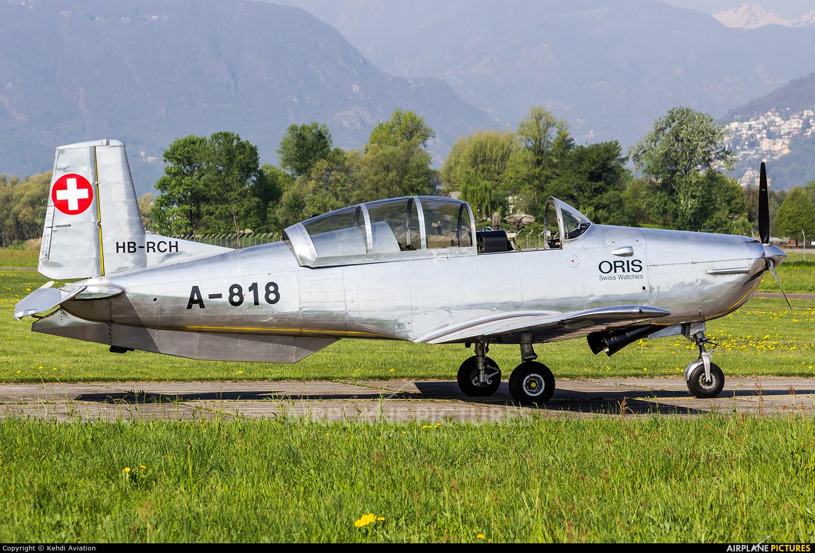 Private HB-RCH aircraft at Locarno