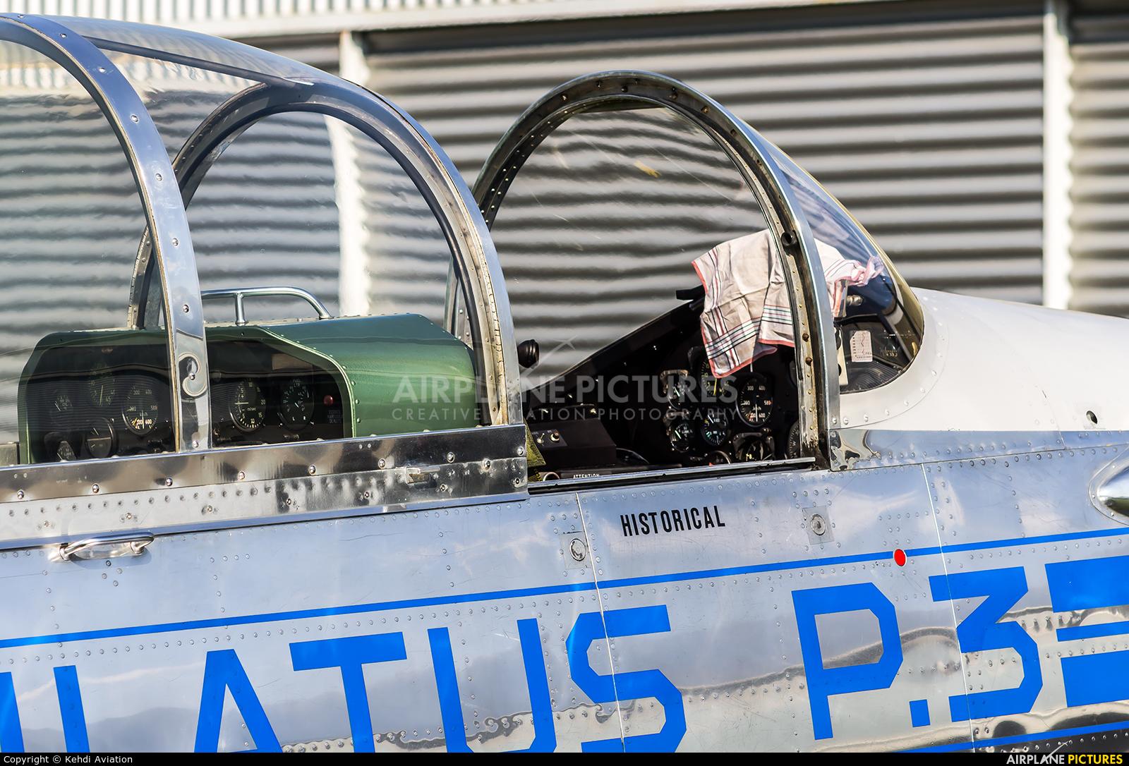 Private HB-RBP aircraft at Locarno