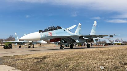 RF-92739 - Russia - Air Force Sukhoi Su-30SM