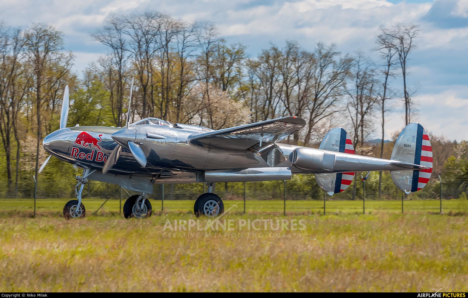 The Flying Bulls N25Y aircraft at Maribor