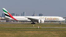 A6-ENF - Emirates Airlines Boeing 777-300ER aircraft