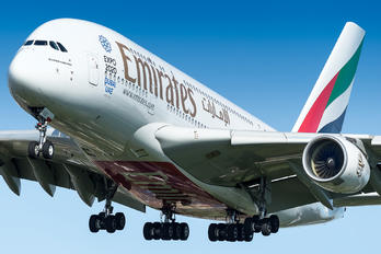 A6-EOO - Emirates Airlines Airbus A380