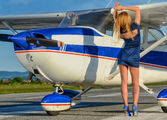 9A-DVW - - Airport Overview - Aviation Glamour - Model aircraft