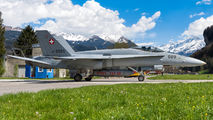 J-5020 - Switzerland - Air Force McDonnell Douglas F/A-18C Hornet aircraft