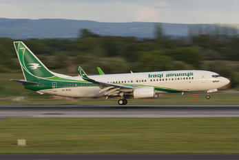 YI-ASG - Iraqi Airways Boeing 737-800