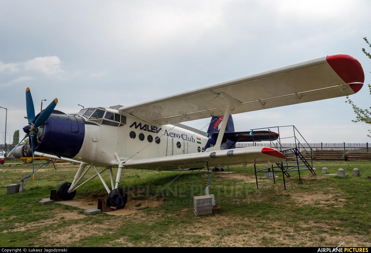 Malév Aero Club HA-YHF aircraft at Budapest Ferenc Liszt International Airport