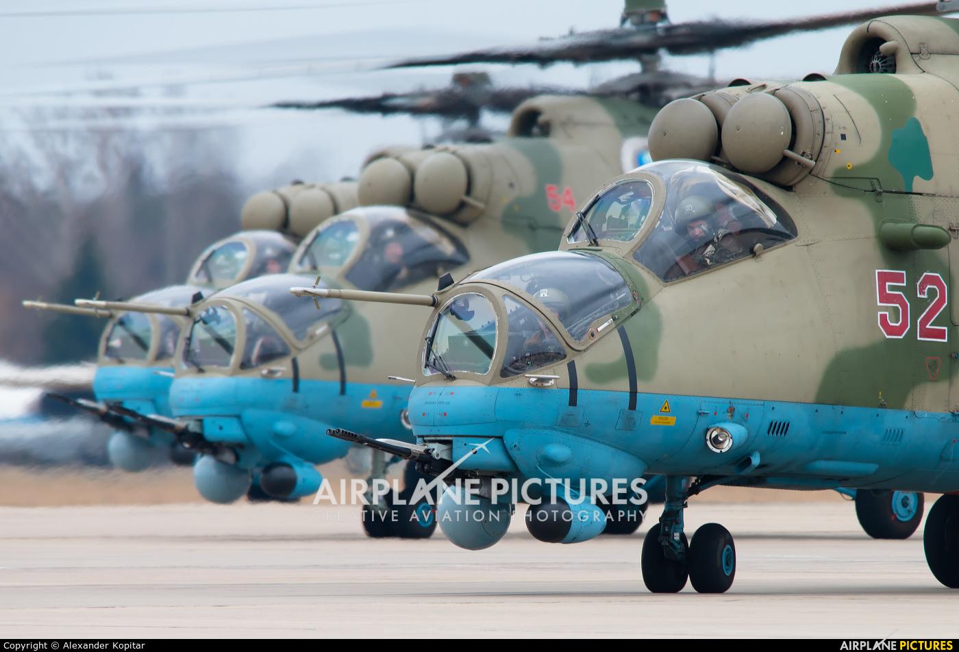 Russia - Air Force 52 aircraft at Kubinka