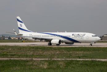 4X-EHF - El Al Israel Airlines Boeing 737-900ER