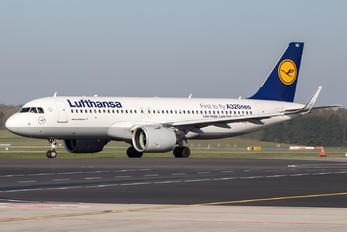 D-AIND - Lufthansa Airbus A320 NEO