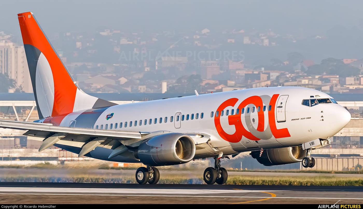 GOL Transportes Aéreos  PR-VBI aircraft at São Paulo - Guarulhos