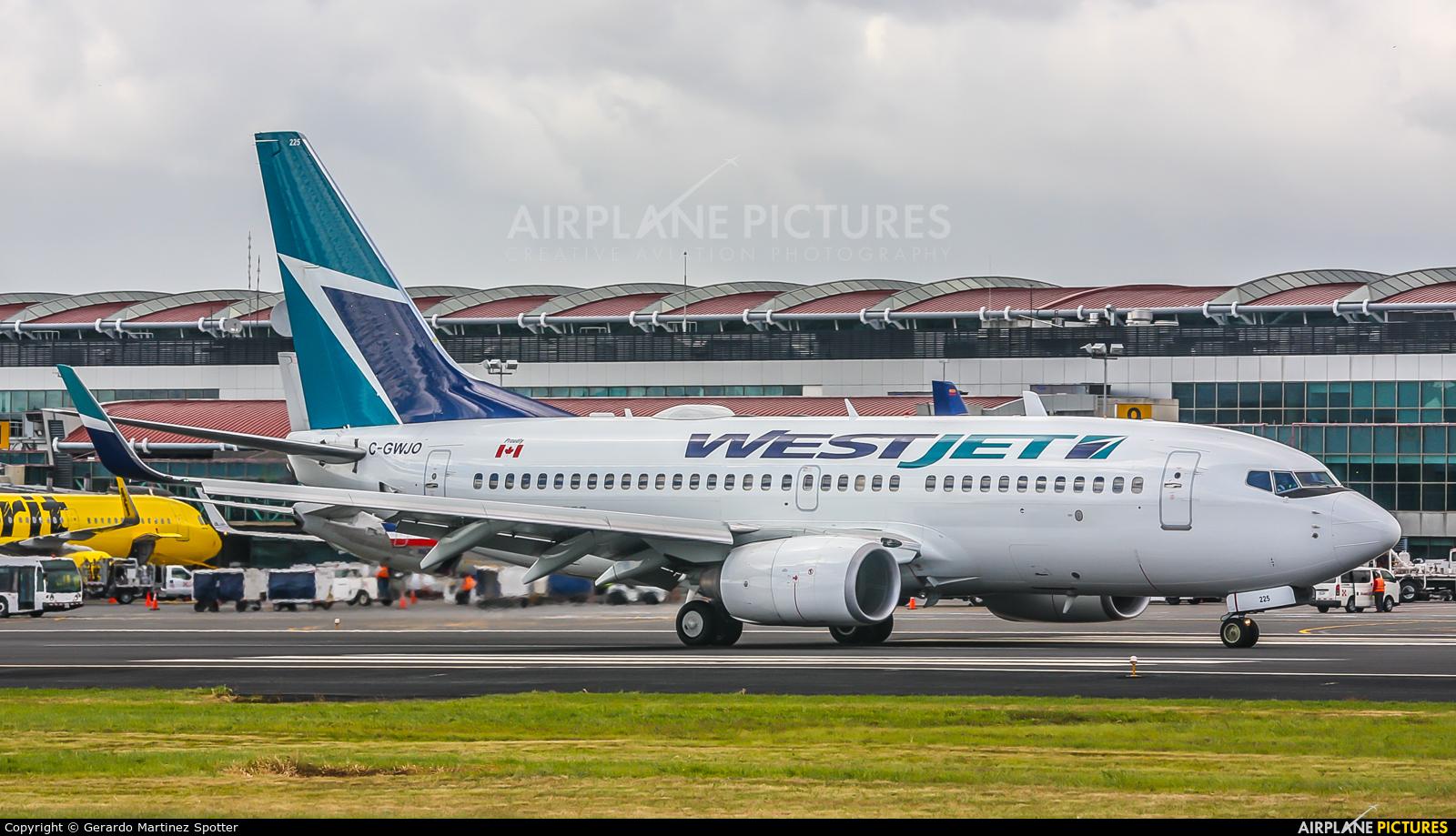 WestJet Airlines C-GWJO aircraft at San Jose - Juan Santamaría Intl