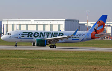 D-AVVY - Frontier Airlines Airbus A320 NEO